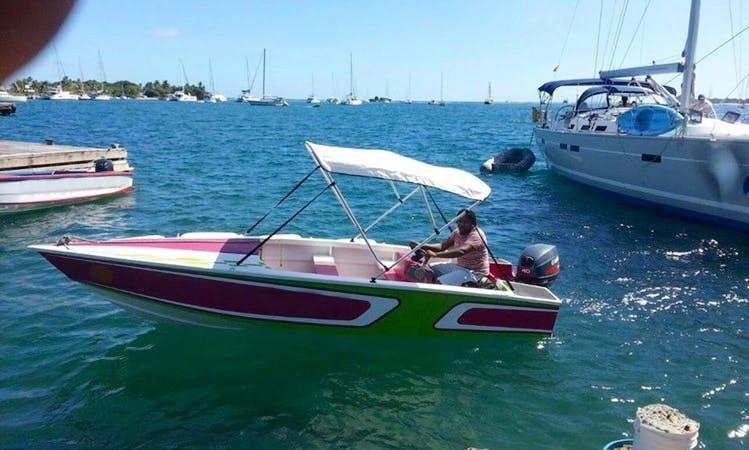 Speed Boat Rental In Clifton, Grenadines