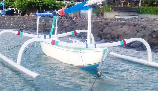 Cruise On A Captained Traditional Boat Charter In Manggis, Bali