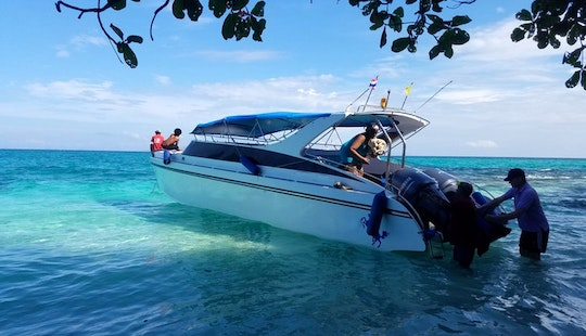 A Fun Excursion Day In Phuket, Thailand On A Motor Yacht Of Up To 25 People