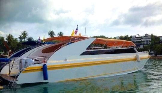 Charter A Motor Yacht In Tambon Kathu, Thailand