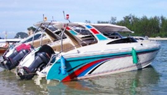 Charter A Motor Yacht In Aonang Krabi, Thailand