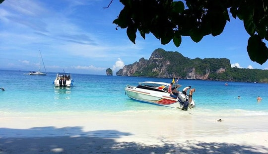 Cruise In Style On A Motor Yacht In Tambon Ao Nang, Thailand