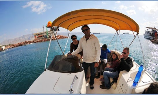 Guided Trip With  Motorboat Hire In Eilat