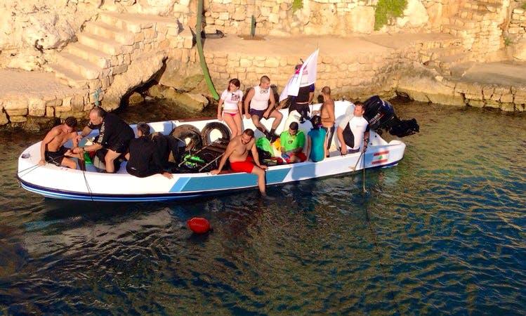 Dive Boat In Jbeil