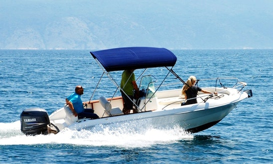 Rent 18' Sessa Marine Key Largo 19 Center Console In Rabac, Croatia