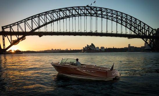 Charter A Italian Styled Speed Boat In Sydney Harbour, Australia