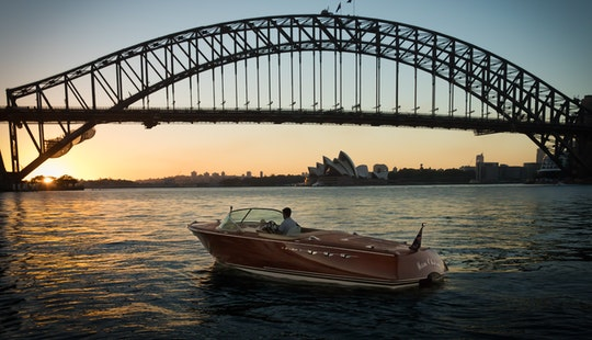 Charter A Italian Styled Speed Boat In Sydney Harbour, Australia