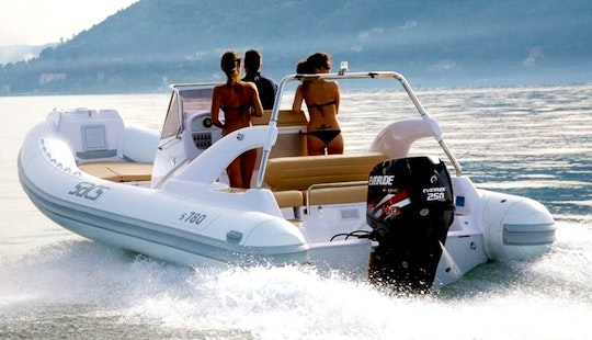 Rent 26' Sacs Rigid Inflatable Boat In Marciana Marina, Italy