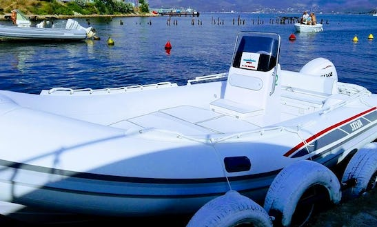 Charter 18' Selva D.540 Rigid Inflatable Boat In Portoferraio, Italy
