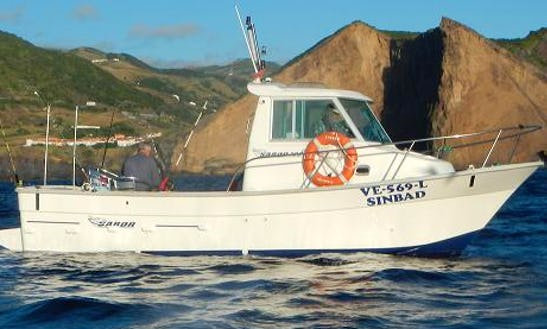 Enjoy Fishing In Azores, Portugal On A Cuddy Cabin Fishing Charter For 6 Persons