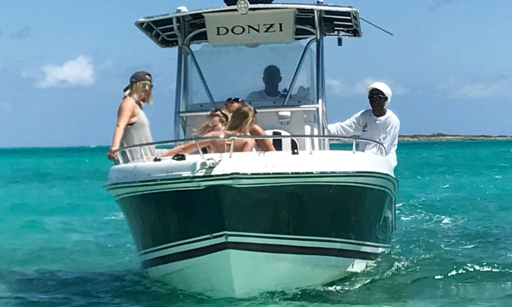 Enjoy fishing in exuma bahamas on 24 39 grammy joy center for Nassau fishing charters
