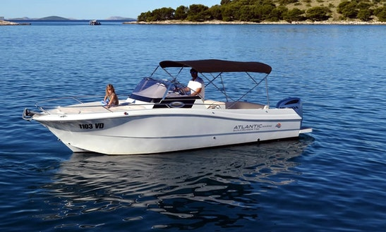 Rent 24' Baco Motor Yacht In Tribunj, Croatia