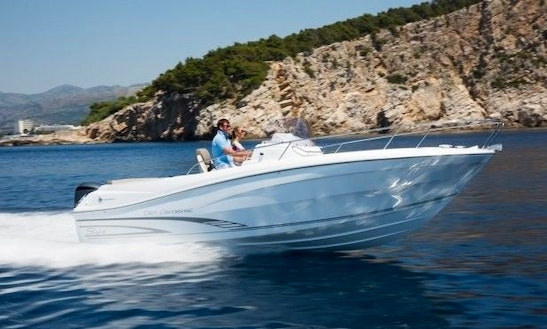 Rent 25' Baco 3 Motor Yacht In Tribunj, Croatia