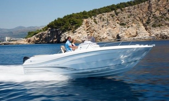 Rent 25' Baco 3 Motor Yacht In Tribunj, Croatia