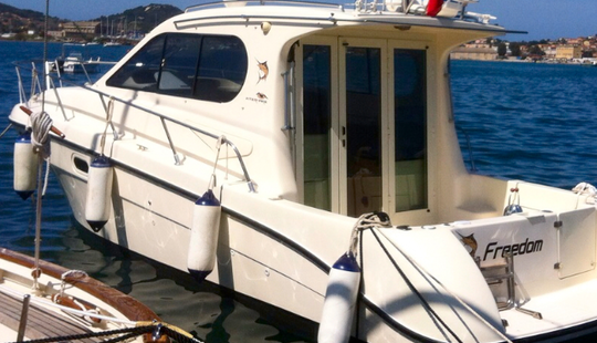 Enjoy Fishing In Marciana Marina, Italy On 30' Intermare Cuddy Cabin