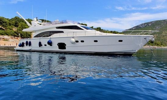 Enjoy A Week In Pula, Croatia On A Motor Yacht