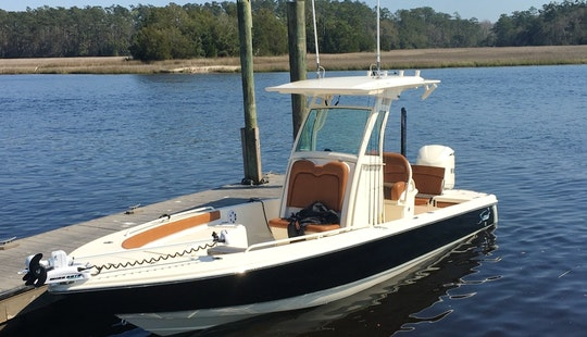 Myrtle Beach Inshore Fishing Charter Out Of Little River Sc