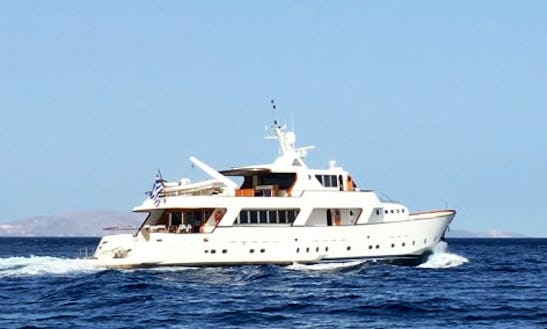 Charter 128' Crn Power Mega Yacht In Tourlos, Greece