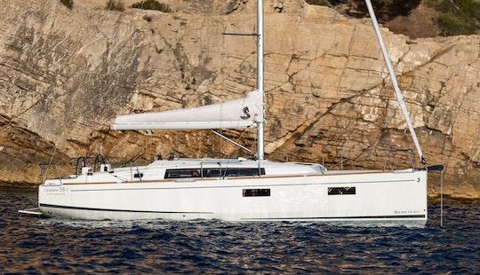 Rent 38' Beneteau Oceanis Cruising Monohull In Lefkada, Greece