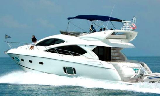 Charter 64' Tia Motor Yacht In Sukošan, Croatia