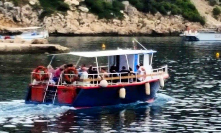 25 Person Boat Tour in Agios Nikolaos, Greece