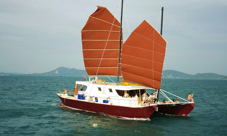 Catamaran Day cruise in Phuket