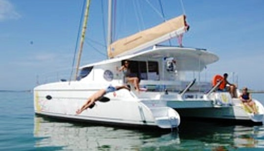 Charter An 8 Person Sailing Catamaran In Tambon Mai Khao For Your Next Water Island Vacation