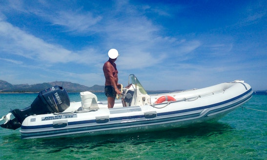 Rent The Mt 515 Inflatable Boat In Olbia, Italy