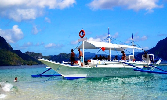 16 Pax Noa Diving Boat In El Nido
