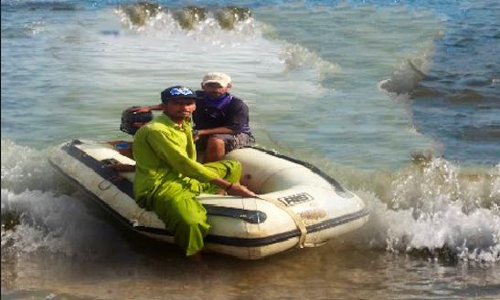 Charter A Rigid Inflatable Boat In Karachi, Pakistan