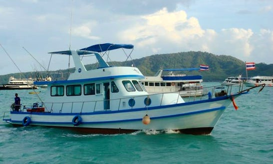 Charter Phuket Fishing Cruiser P2 In Phuket, Thailand.