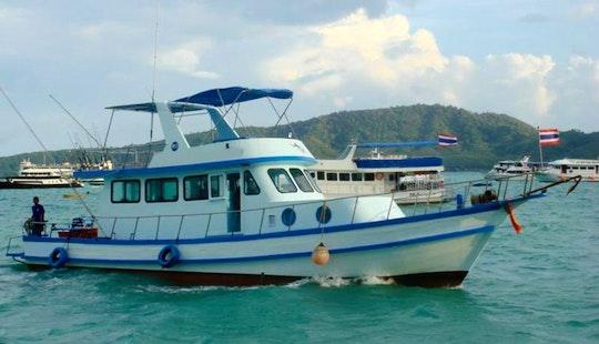 Charter Phuket Fishing Cruiser P2 In Phuket, Thailand.