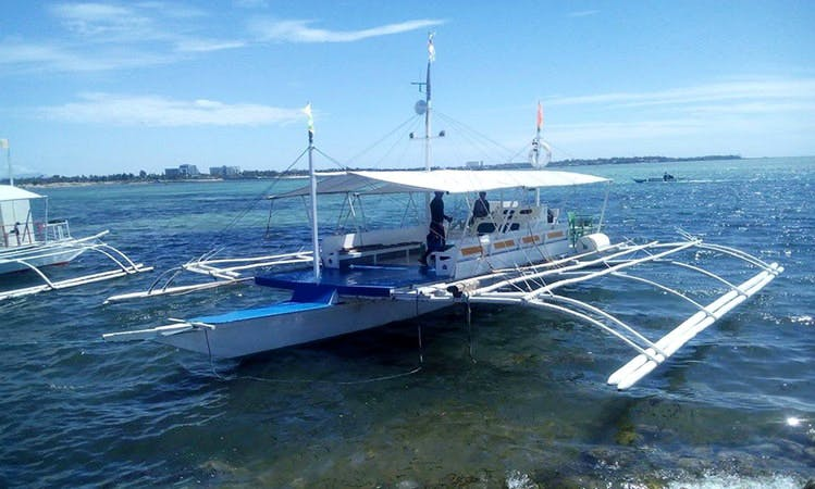 Island Hopping aboard Traditional Boat in Cordova, Philippines!