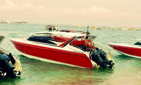 Take A Tour To Pattaya, Thailand On A Speedboat!