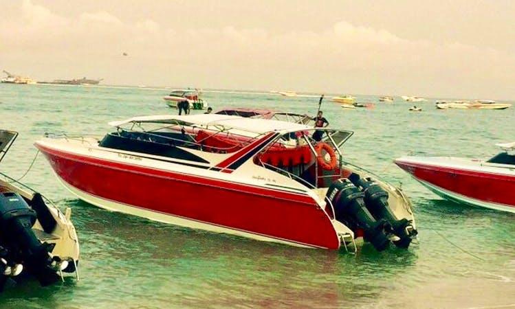 Take a tour to Pattaya, Thailand on a Speedboat!