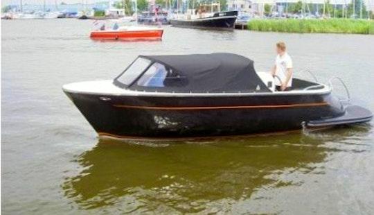 Hire The 22ft Aquatico Retro Sloop Boat In Kinrooi, Belgium