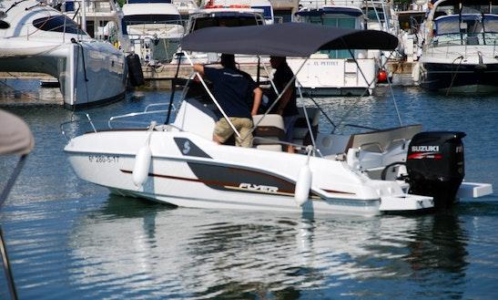 Rent 2017 Beneteau Flyer 5.5 Sundeck Boat In Torroella De Montgrí