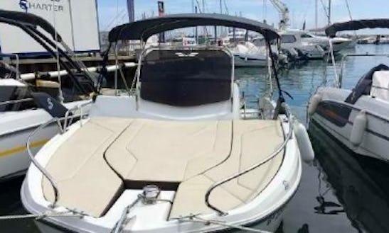 Navigate The New Flyer 6.6 Sundeck Boat In Torroella De Montgrí, Spain