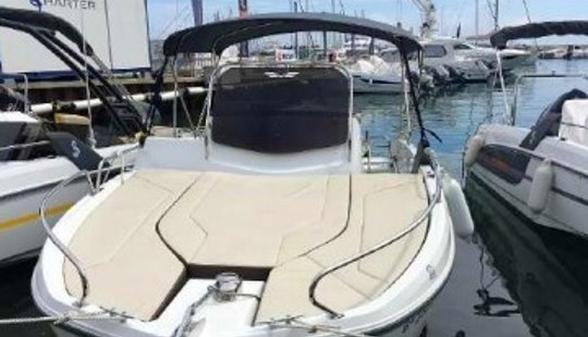 Navigate The New Flyer 6.6 Sundeck Boat In Cambrils, Spain
