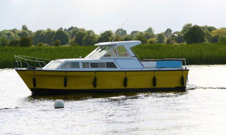 Enjoy Lough Ree, Ireland On 36' Canal Boat