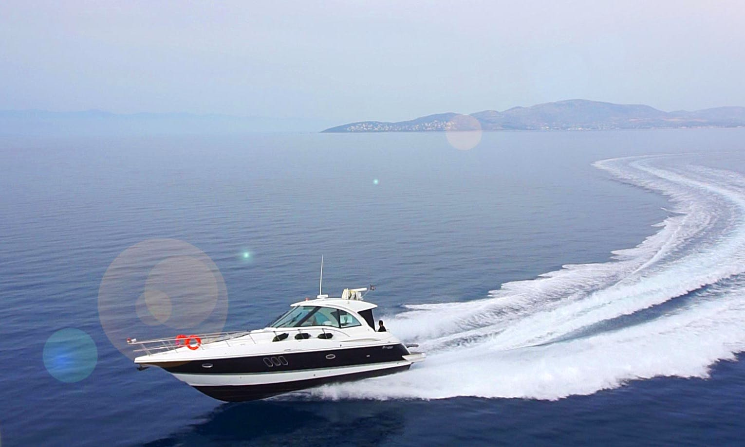 Luxury Motor Yacht rental in Skiathos