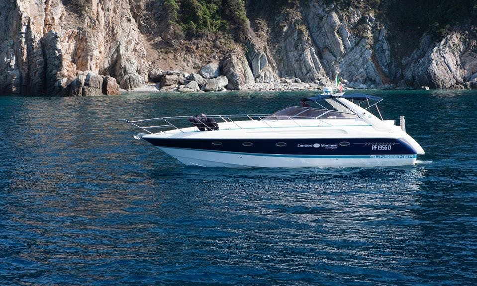 Charter 40' Sunseeker Portofino Motor Yacht in Marciana Marina, Italy