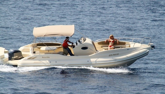 Charter Dolce Vita 2 Rigid Inflatable Boats In Kassiopi, Greece