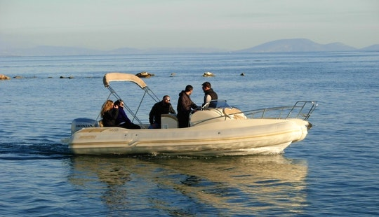 Charter Mostro Spirit 650 Rigid Inflatable Boats In Kassiopi, Greece