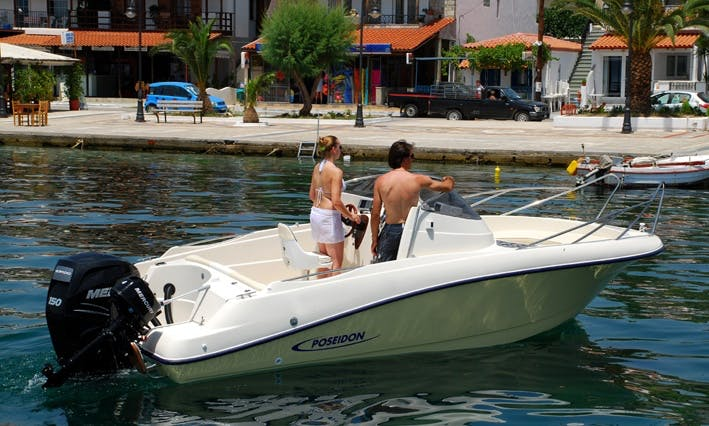 Charter Blue Water 640 Center Console in Kassiopi, Greecev