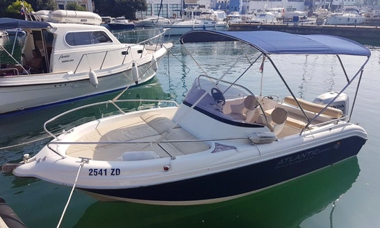 Charter 19' Atlantic Sun Cruiser Cuddy Cabin In Tisno, Croatia