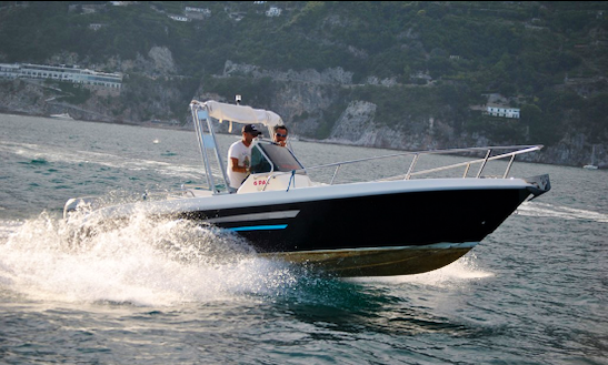 Rent 21' Terminal Center Console In Salerno, Italy