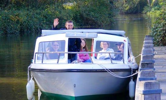 Hire The Phoenix 21 Electric Boat In Tonbridge, United Kingdom