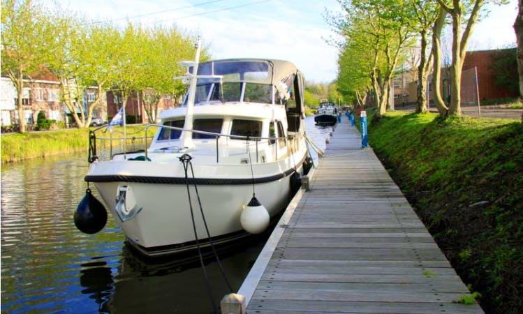BBoat Linssen yachtcharter Belgium (Gent - Ieper)