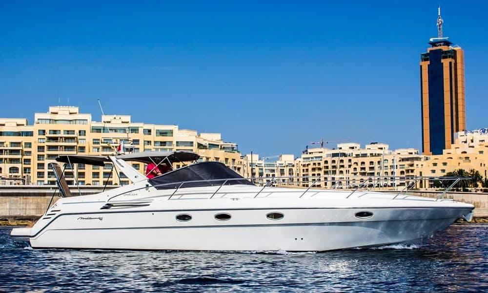 Charter a Motor Yacht in Ta' Xbiex, Malta